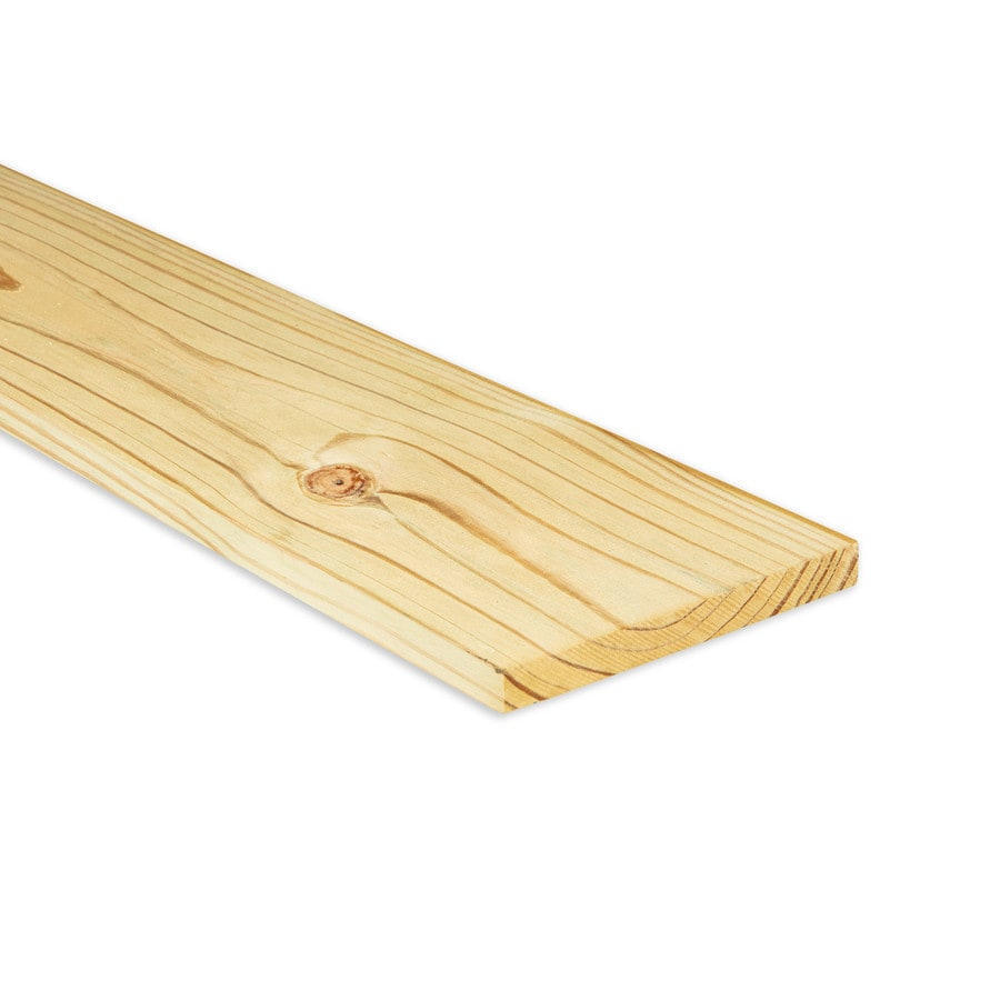 Severe Weather Pressure Treated Southern Yellow Pine Board (Common: 1-in x 8-in x 10-ft; Actual: 0.75-in x 7.25-in x 10-ft)