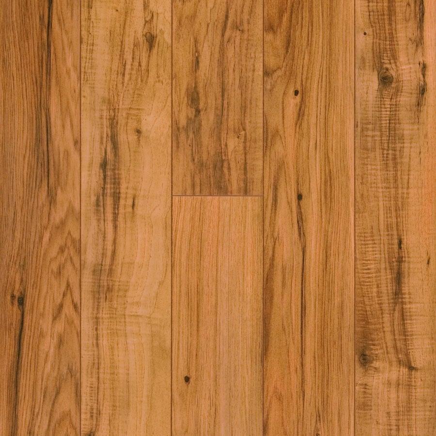 Pergo MAX 4.92-in W x 3.99-ft L Hampton Hickory Wood Plank Laminate Flooring