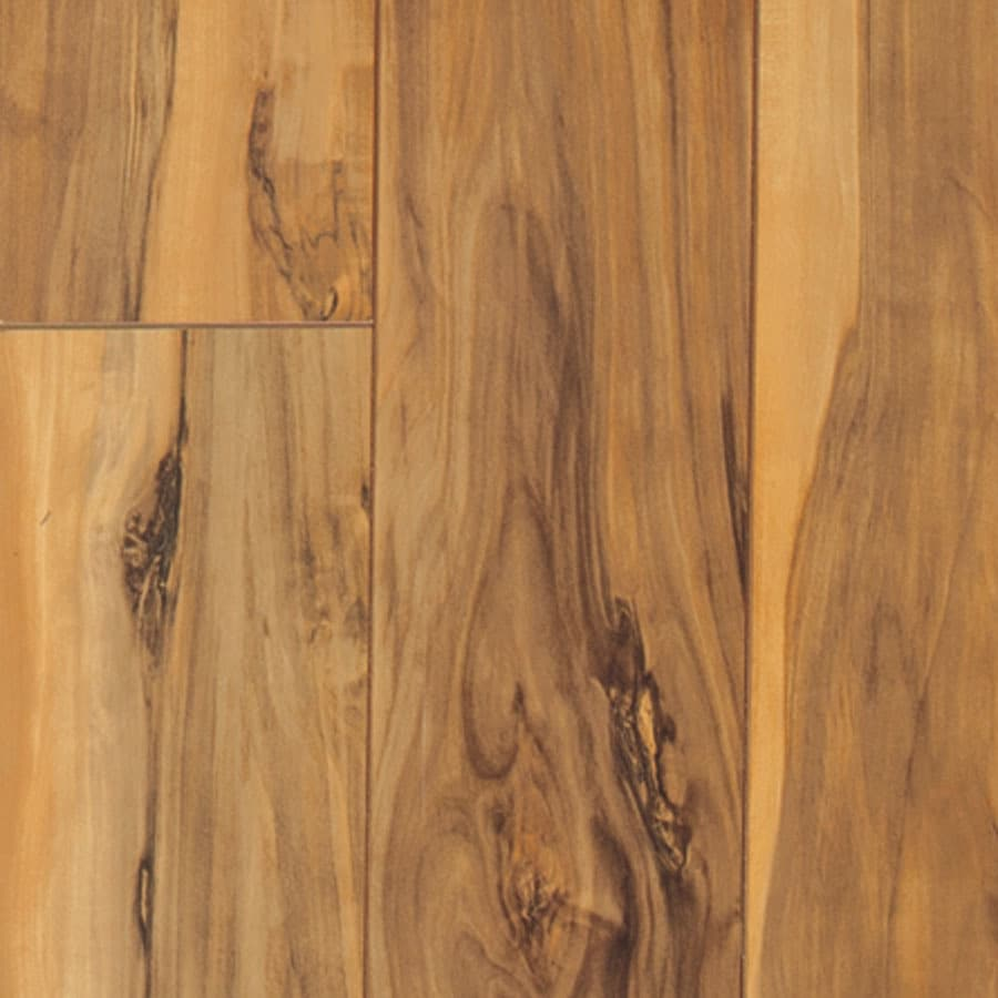 Pergo MAX 5.35-in W x 3.96-ft L Montgomery Apple Smooth Wood Plank Laminate Flooring