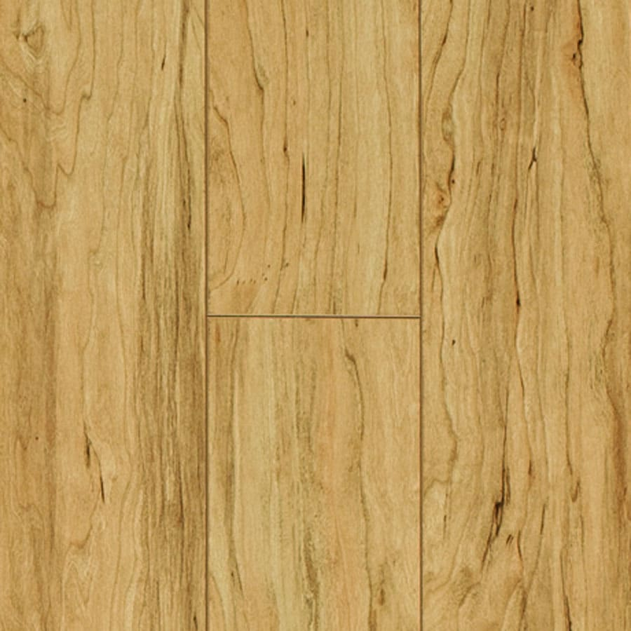 Pergo Max 4.92-in W x 3.99-ft L Emerson Maple Embossed Laminate Wood Planks