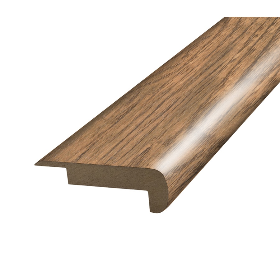 SimpleSolutions 2.37-in x 78.74-in Antique Hickory Stair Nose Floor Moulding