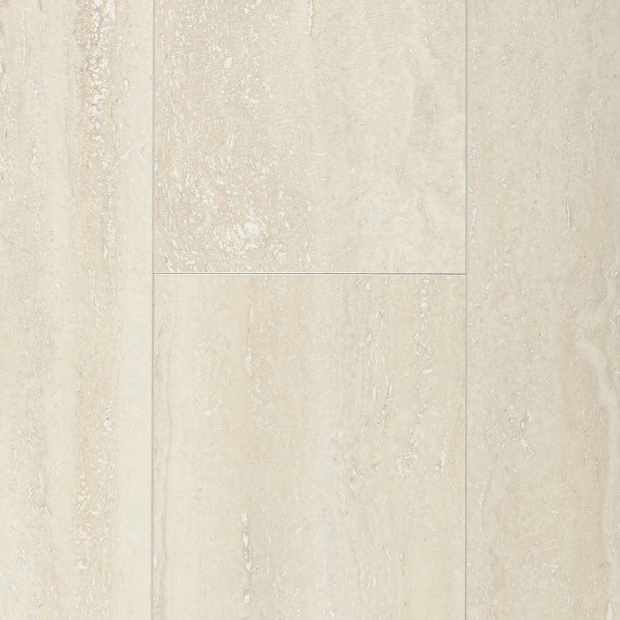 Pergo Max 11.1-in W x 1.98-ft L Linen Travertine Embossed Laminate Tile and Stone Planks