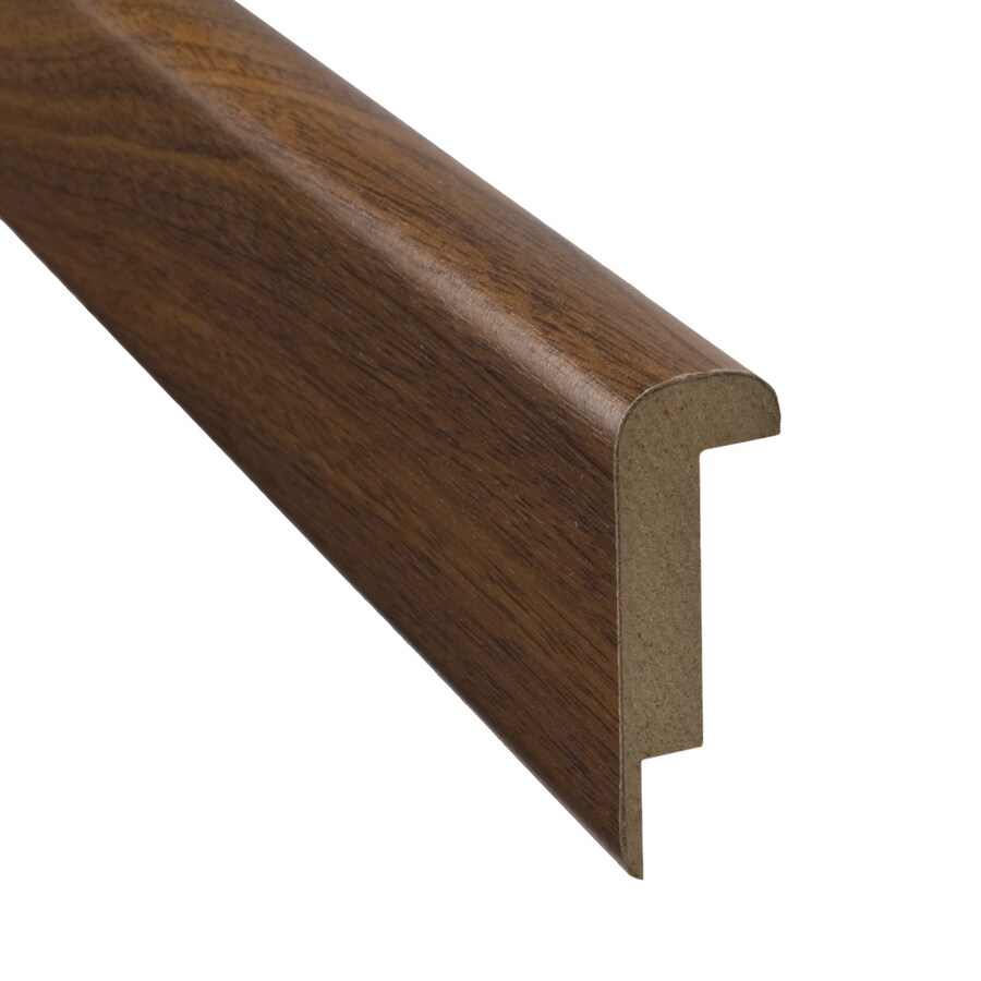 SimpleSolutions 2.37-in x 78.74-in Mahogany Stair Nose Floor Moulding
