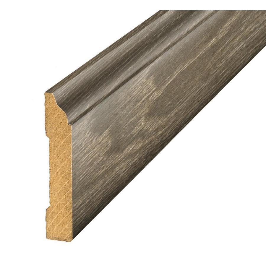 SimpleSolutions 3.3-in x 94.5-in Driftwood Oak Base Floor Moulding