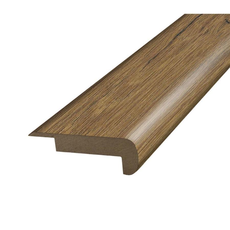 SimpleSolutions 2.37-in x 78.75-in River Road Oak Stair Nose Floor Moulding