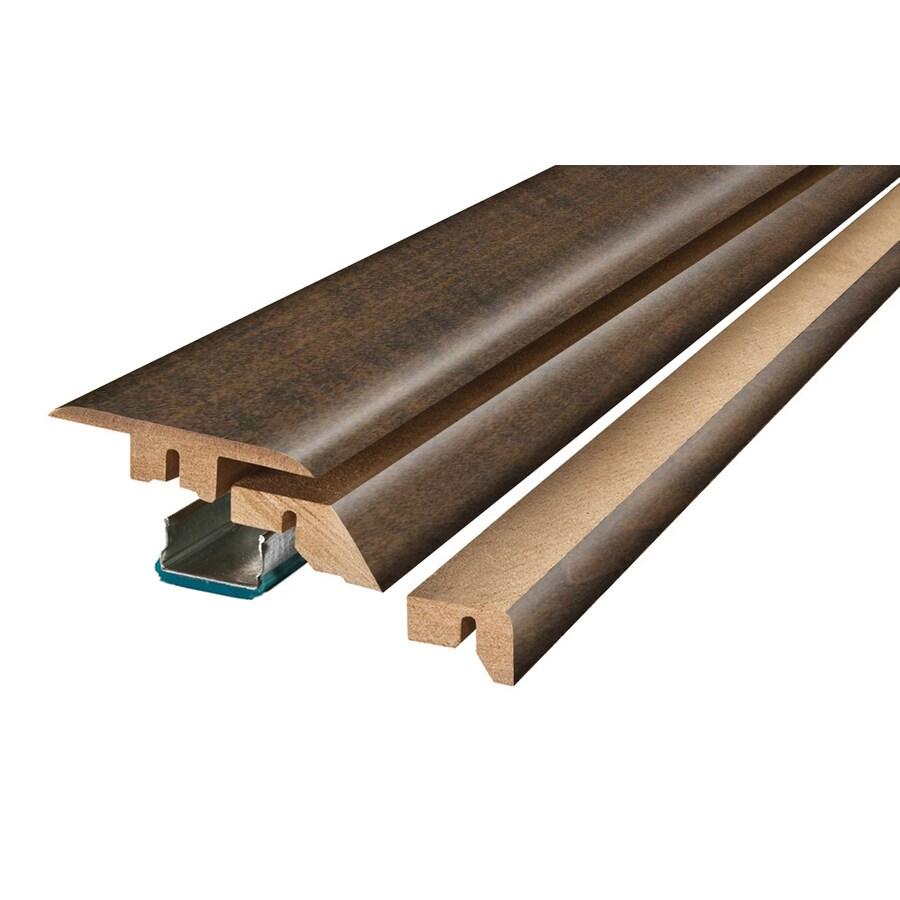 SimpleSolutions 2.375-in x 78.75-in Gray Maple 4-N-1 Floor Moulding