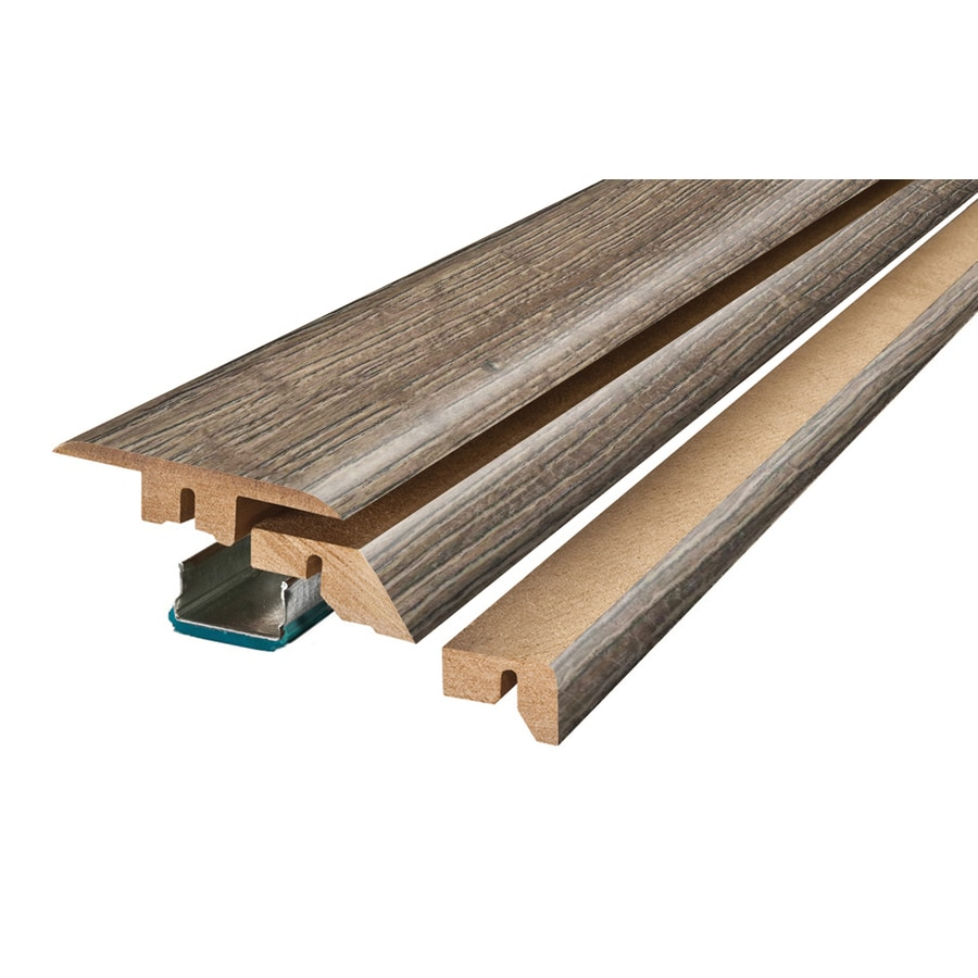 SimpleSolutions 2.375-in x 78.75-in Gray Oak 4-N-1 Floor Moulding