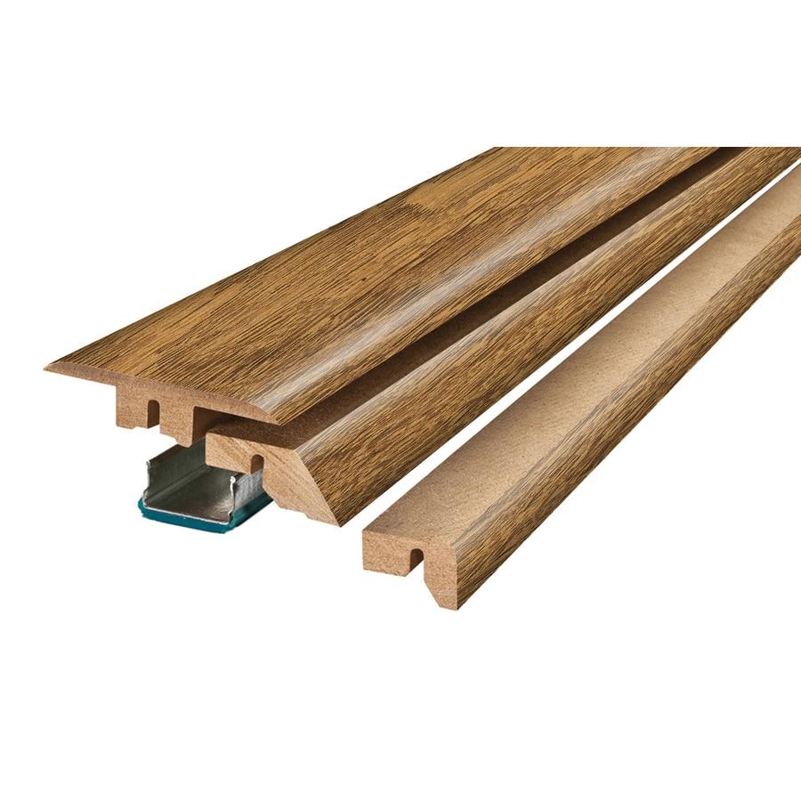 SimpleSolutions 2.375-in x 78.75-in Brown/Tan Oak 4-N-1 Floor Moulding