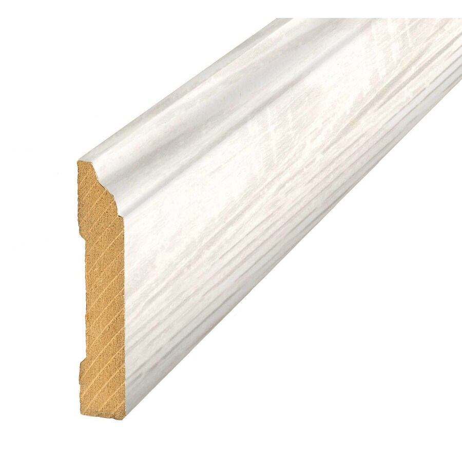 SimpleSolutions 3.3-in x 94.5-in Off-White Pine Base Floor Moulding