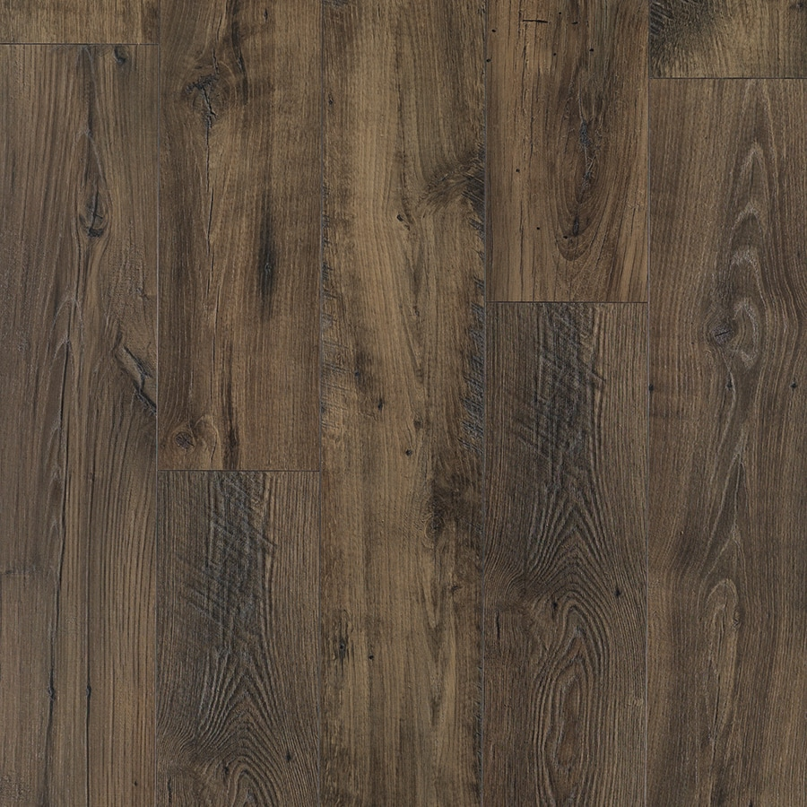 Pergo MAX Premier 7.48-in W x 4.52-ft L Smoked Chestnut Embossed Wood Plank Laminate Flooring