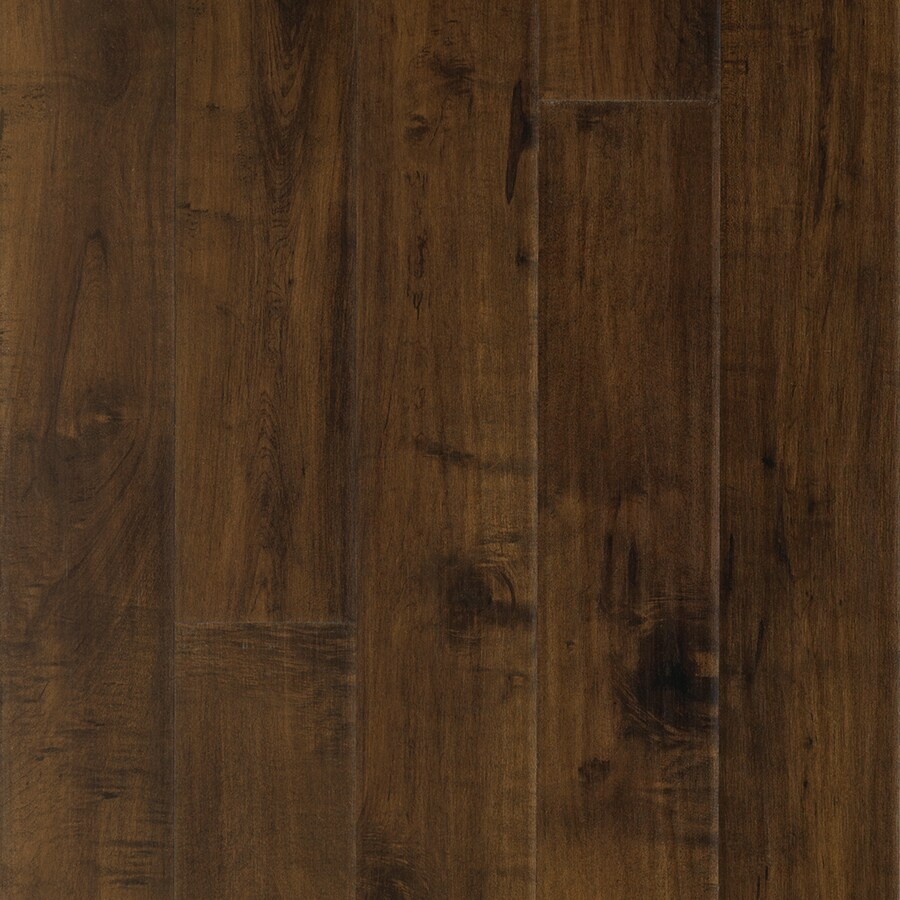 Pergo MAX Premier 6.14-in W x 4.52-ft L Chateau Maple Handscraped Wood Plank Laminate Flooring