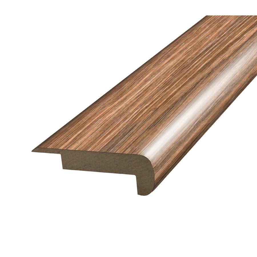 SimpleSolutions 2.375-in x 78.75-in Brown/Tan Oak Stair Nose Floor Moulding
