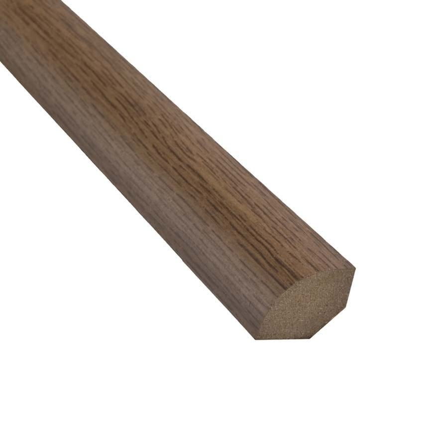 SimpleSolutions 94.5-in x 0.75-in Iron Mill Maple Quarter Round Floor Moulding