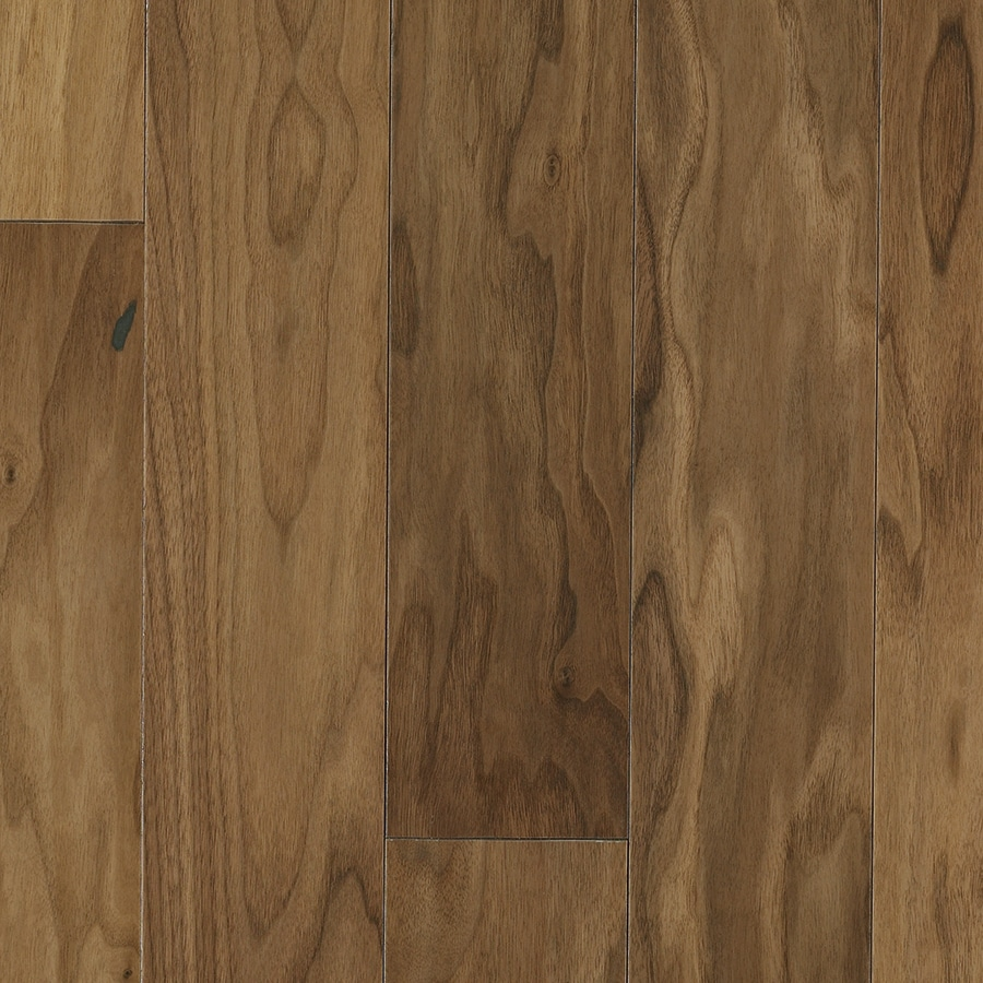 Shop pergo walnut hardwood flooring sample hs crescent for Walnut hardwood flooring