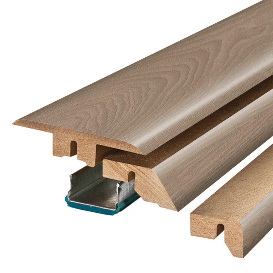 SimpleSolutions 2.375-in x 78.7-in London Oak 4-N-1 Floor Moulding