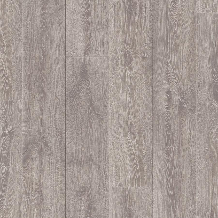 Pergo Portfolio 8.07-in W x 6.72-ft L Silver Oak Wood Plank Laminate Flooring