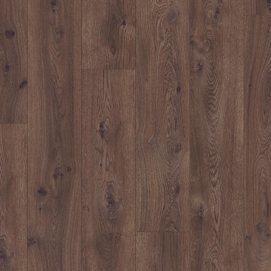 Pergo Portfolio 8.07-in W x 6.72-ft L Chocolate Oak Wood Plank Laminate Flooring