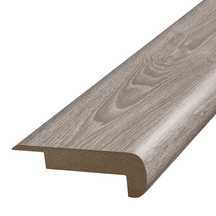 SimpleSolutions 2.375-in x 78.7-in Silver Oak Stair Nose Floor Moulding