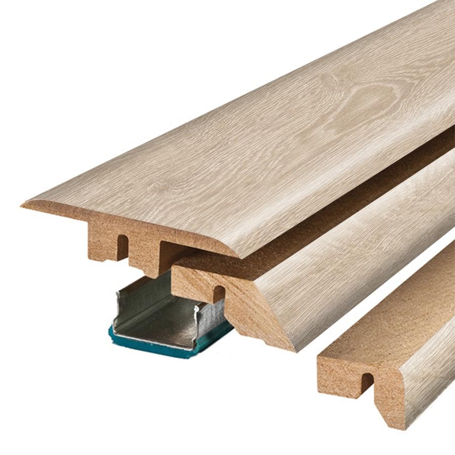 SimpleSolutions 2.375-in x 78.7-in Modern Oak 4-N-1 Floor Moulding
