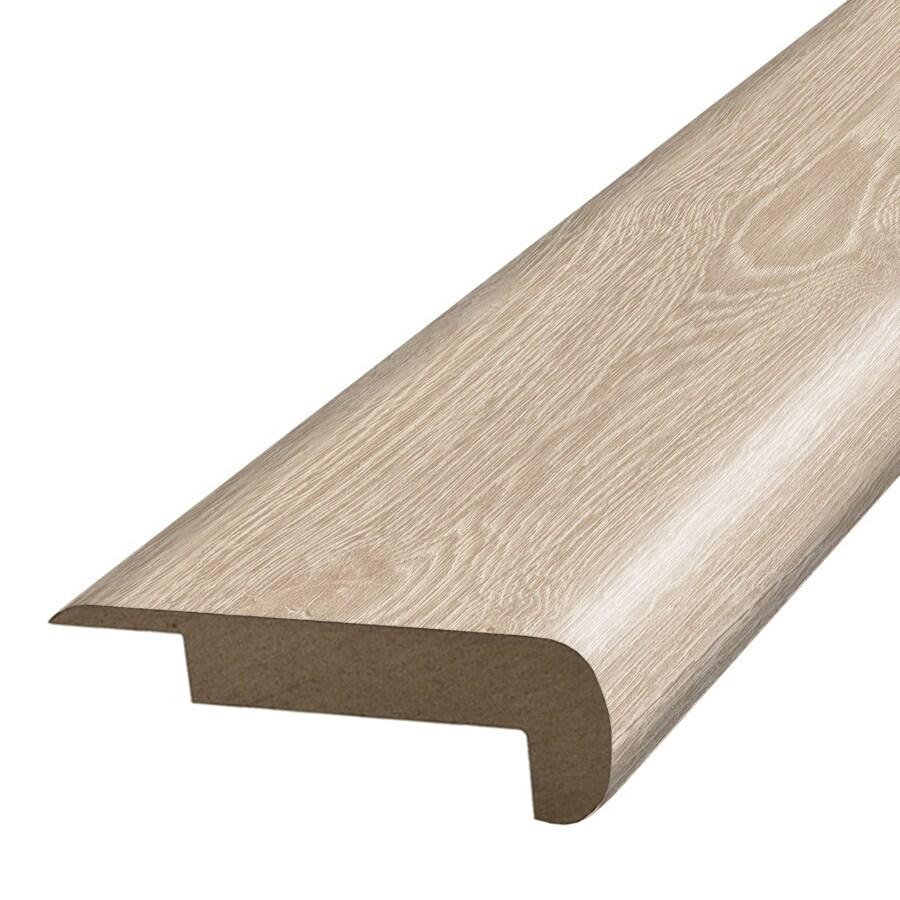 SimpleSolutions 2.375-in x 78.7-in Modern Oak Stair Nose Floor Moulding