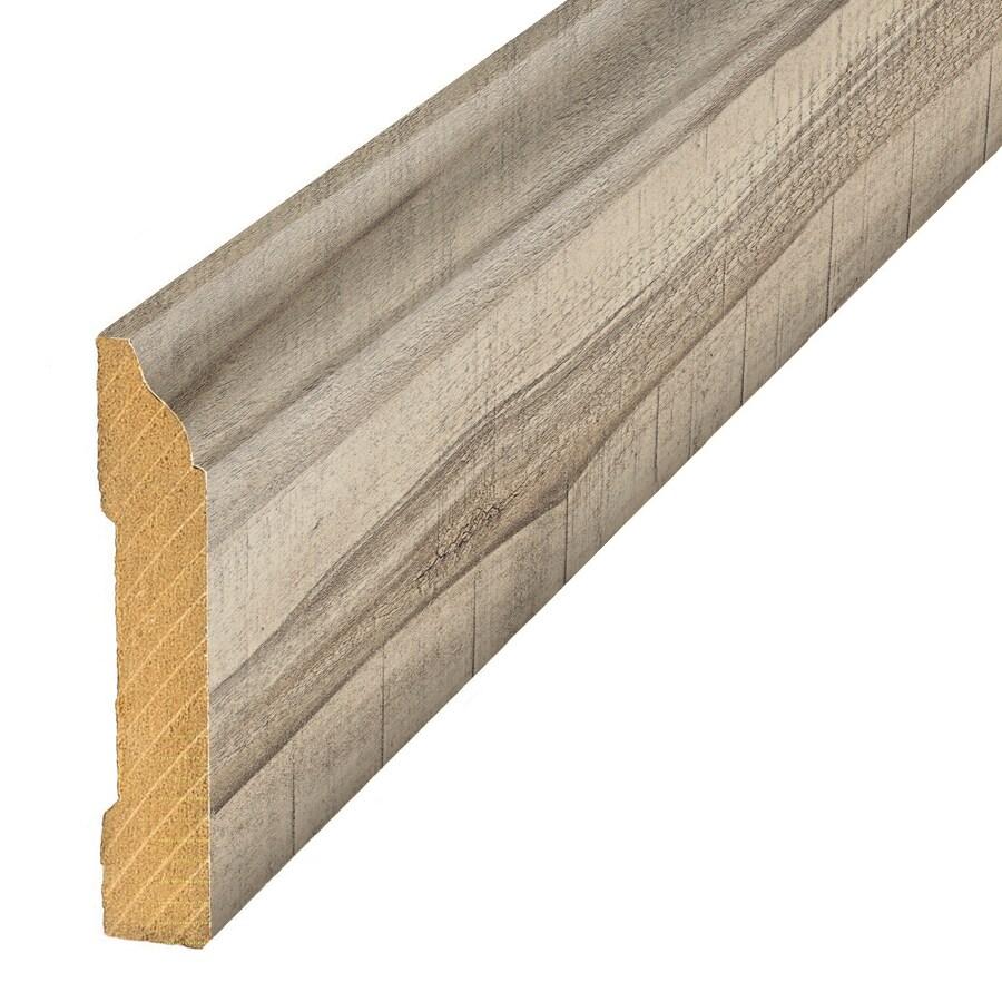 SimpleSolutions 3.3-in x 94.5-in Rustic Poplar Base Floor Moulding