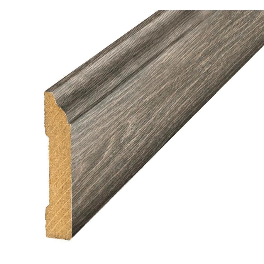 SimpleSolutions 3.3-in x 94.5-in Stonegate Oak Base Floor Moulding