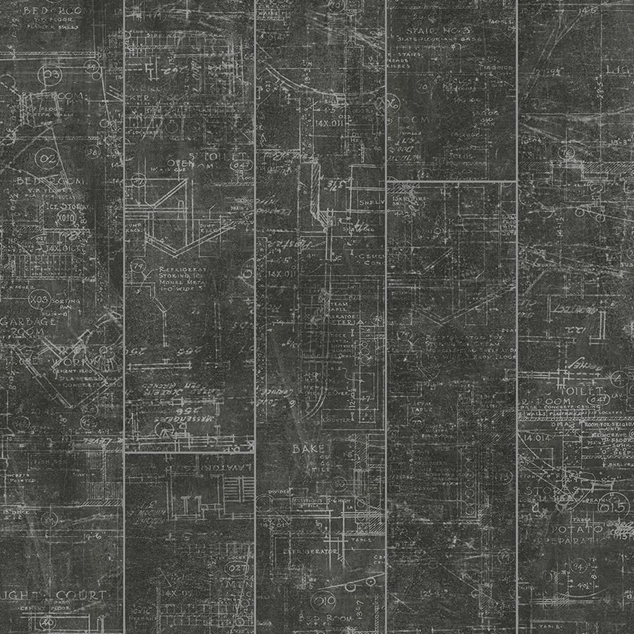 Pergo Portfolio 7.48-in W x 3.93-ft L Blue Print Smooth Tile Look Laminate Flooring