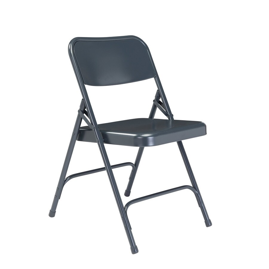 National Public Seating Set of 24 Indoor Steel Standard Folding Chair