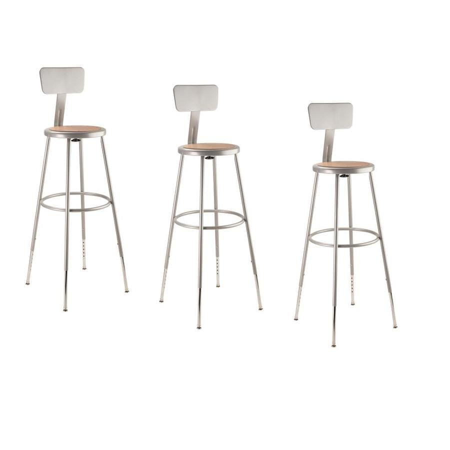 National Public Seating 3-Pack Work Seats