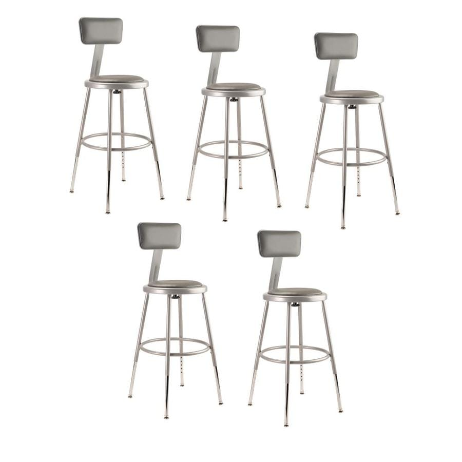 National Public Seating 5-Pack Work Seats