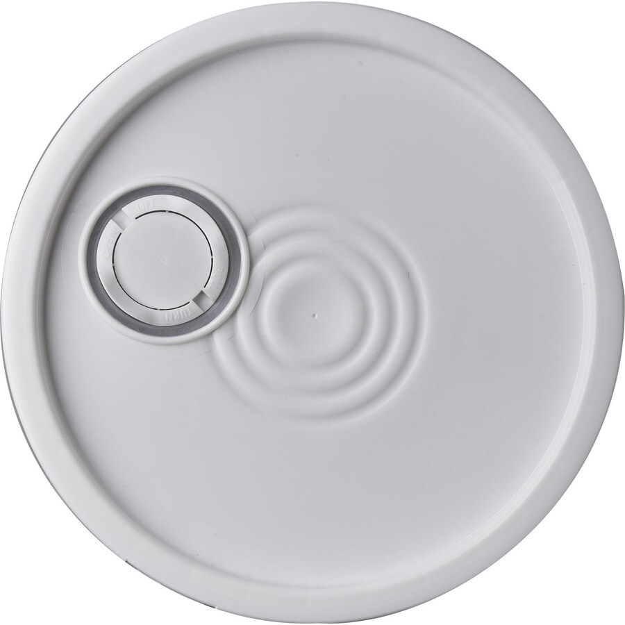 Letica 12.15-in White Plastic Bucket Lid