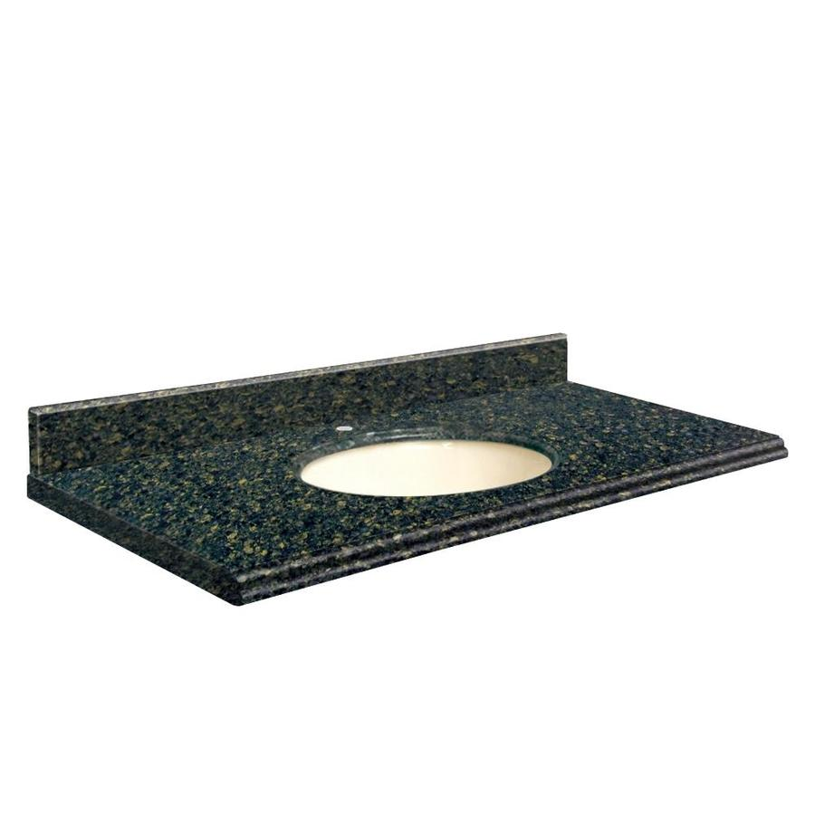 Transolid Manchester Square Quartz Undermount Single Sink Bathroom Vanity Top (Common: 43-in x 22-in; Actual: 43-in x 22-in)