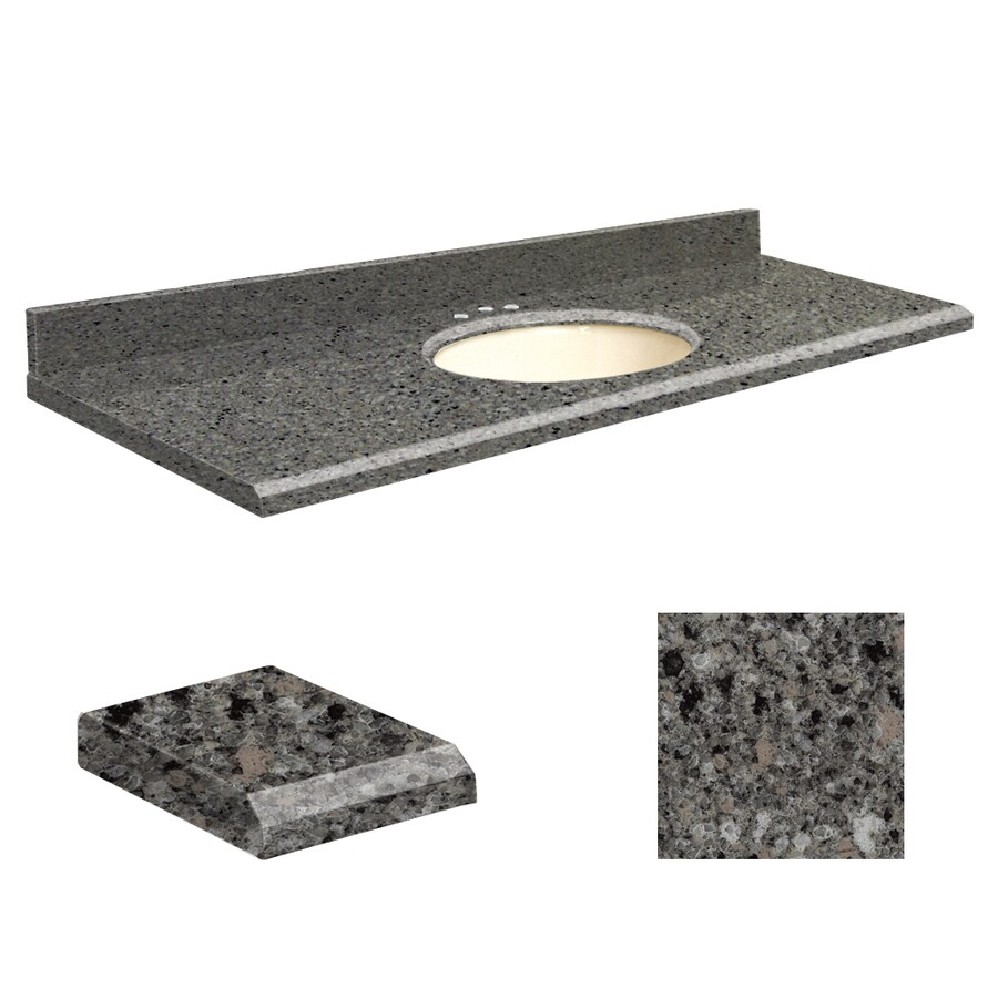 Quartz Stone Sink : Shop Transolid Canterbury Stone Quartz Undermount Single Sink Bathroom ...