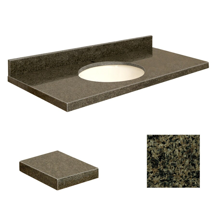 Shop Transolid Sea Green Granite Undermount Single Sink