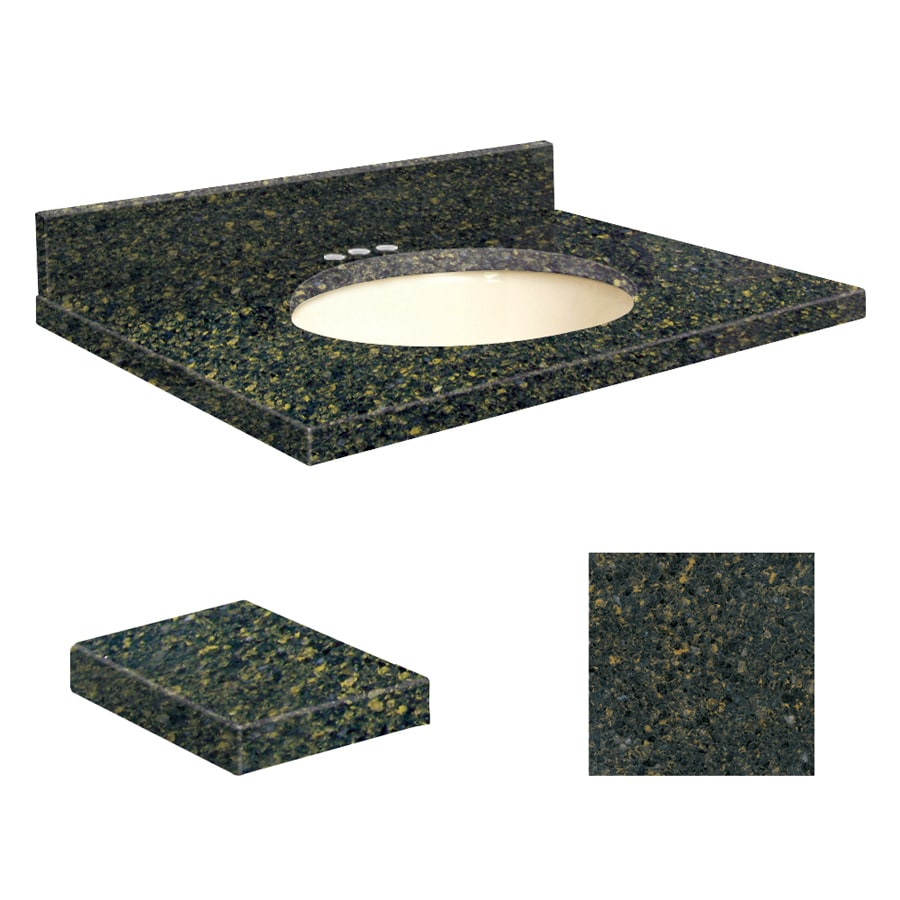 Transolid Manchester Square Quartz Undermount Single Sink Bathroom Vanity Top (Common: 31-in x 19-in; Actual: 31-in x 19.25-in)