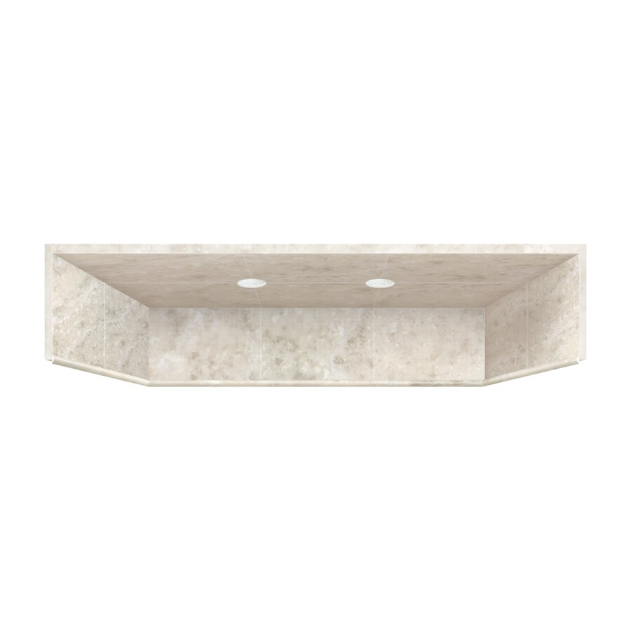 Style Selections 34-in x 48-in Shower Ceiling with LED Light Kit