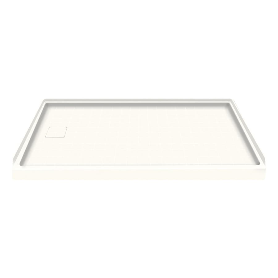 Style Selections White Solid Surface Shower Base (Common: 30-in W x 60-in L; Actual: 30-in W x 60-in L)
