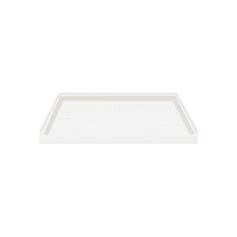 Style Selections White Solid Surface Shower Base (Common: 32-in W x 60-in L; Actual: 32-in W x 60-in L)