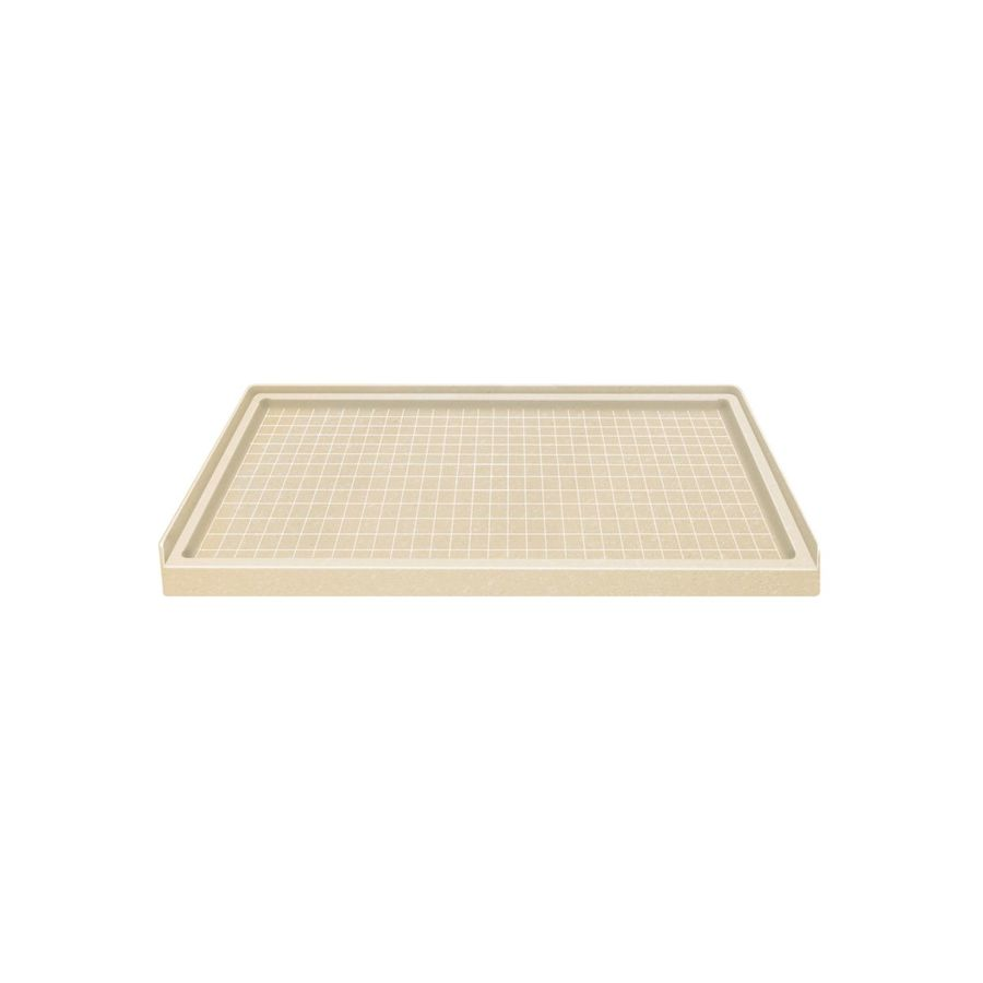 Style Selections Sea Shore Solid Surface Shower Base (Common: 36-in W x 60-in L; Actual: 36-in W x 60-in L)