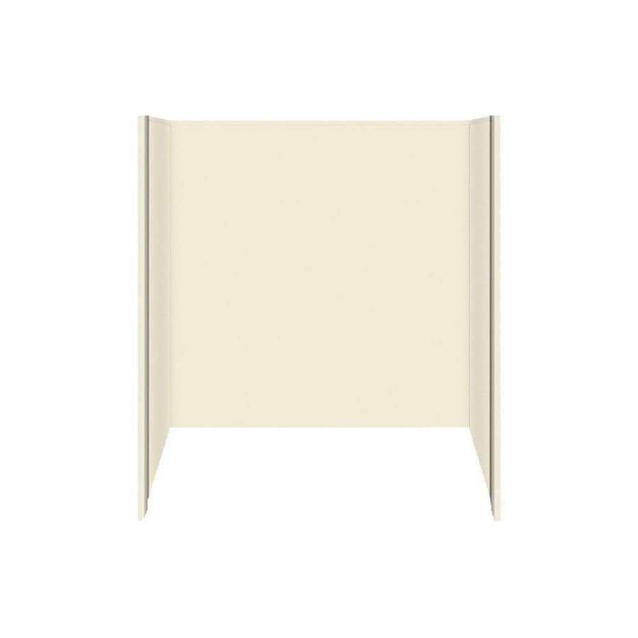 Style Selections Solid Surface Bathtub Wall Surround (Common: 32-in x 60-in; Actual: 60-in x 32-in x 60-in)