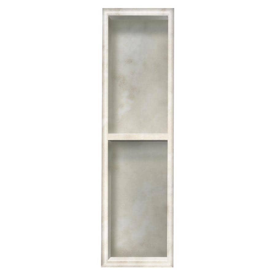 Style Selections Silver Mocha Shower Wall Shelf