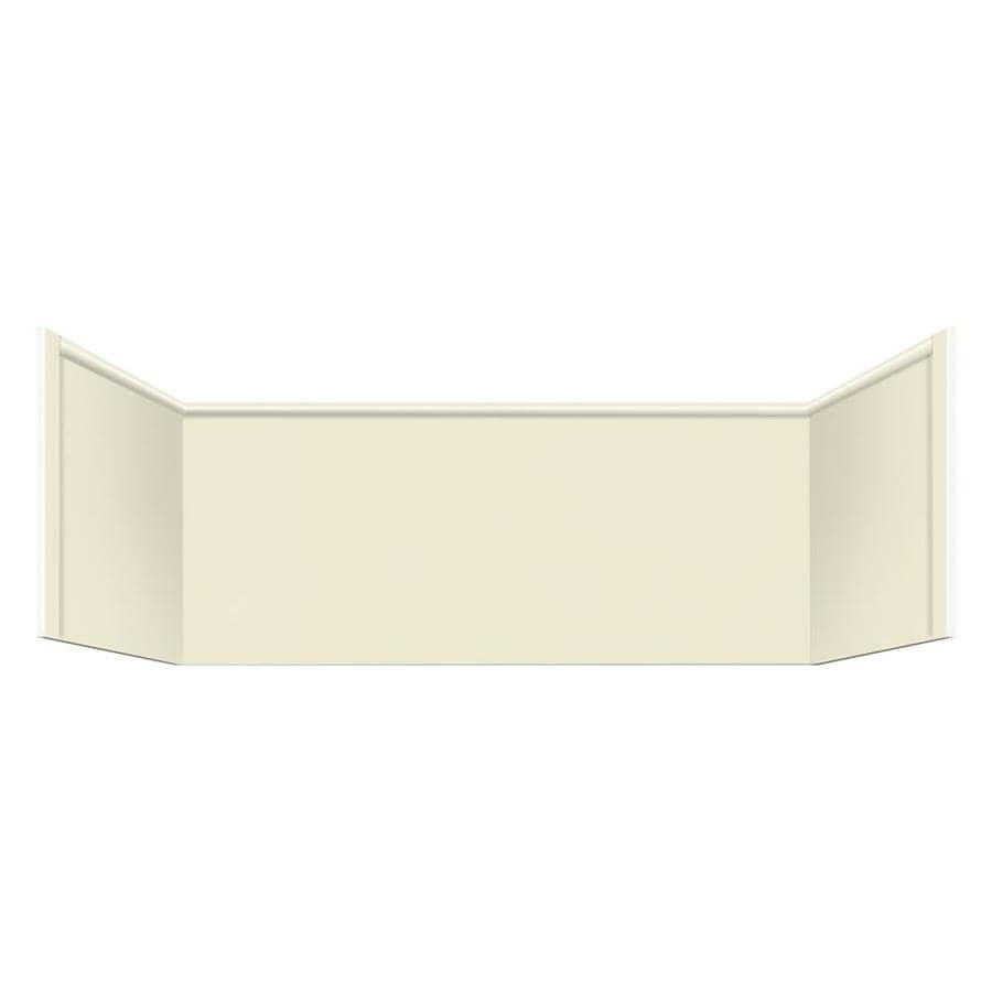 Style Selections Remodel Biscuit Shower Wall Extension Panel