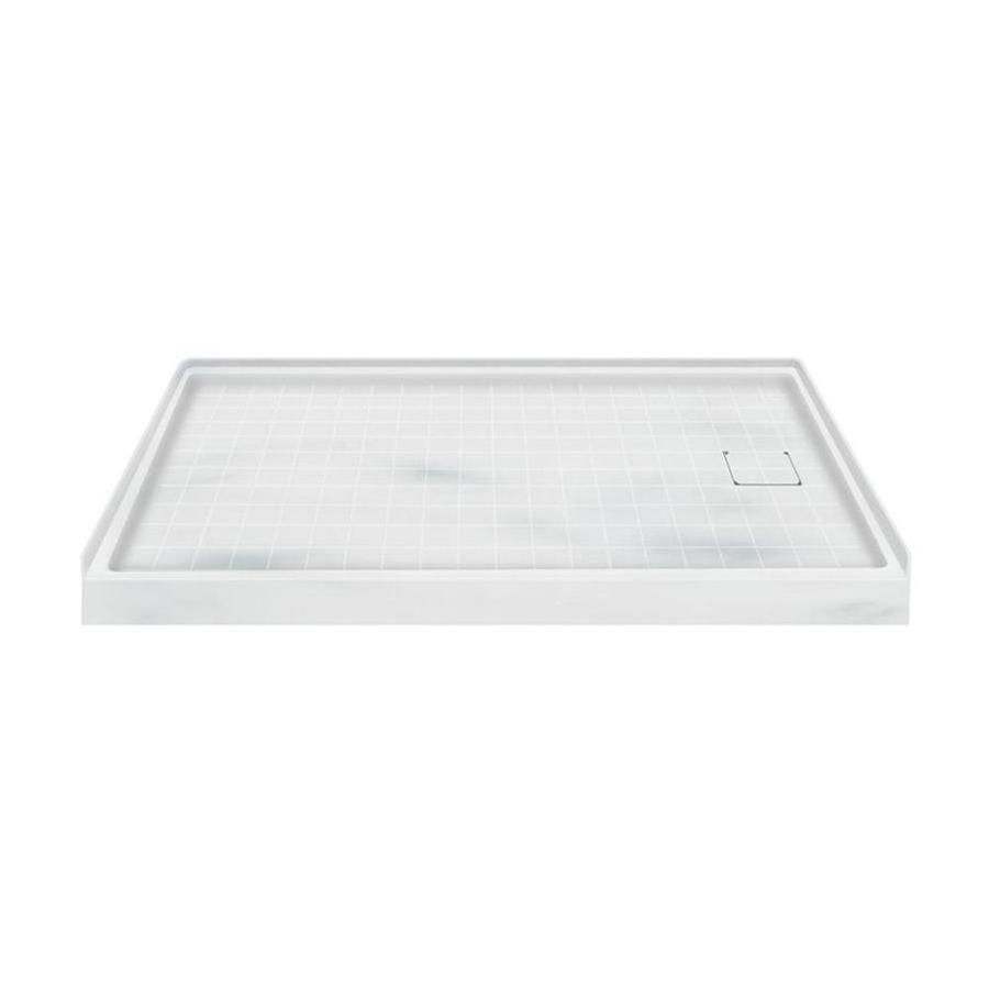 Transolid Storm Solid Surface Shower Base (Common: 60-in W x 32-in L; Actual: 60-in W x 32-in L)