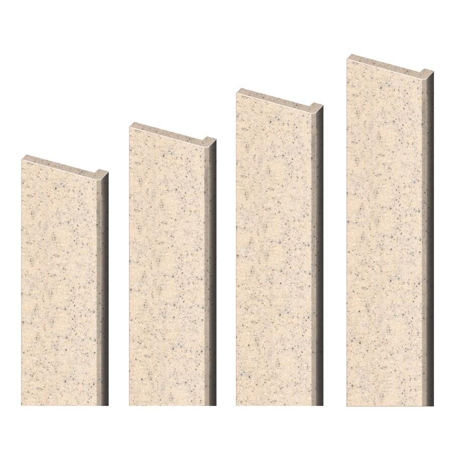 Shop Transolid Decor Matrix Khaki Sand Shower Wall Trim