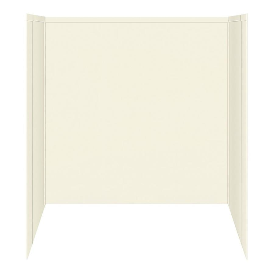 Transolid Decor Biscuit/Buff Shower Wall Surround Side and Back Panels (Common: 32-in; Actual: 60-in x 32-in)