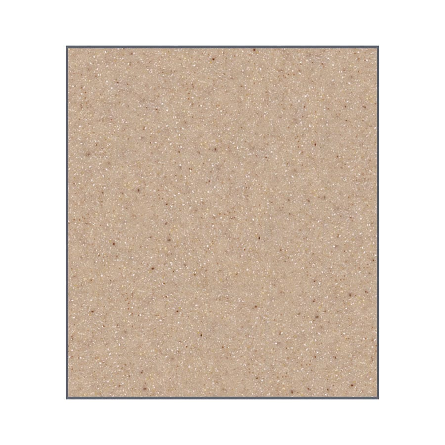 Transolid Decor Sand Castle Shower Wall Surround Side Panel (Common: 0.25-in; Actual: 60-in x 0.25-in)