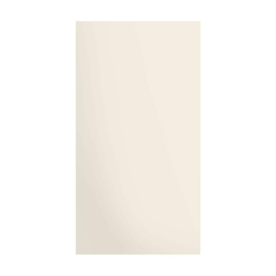 Transolid Decor Cameo/Cream Shower Wall Surround Side Panel (Common: 0.25-in; Actual: 72-in x 0.25-in)