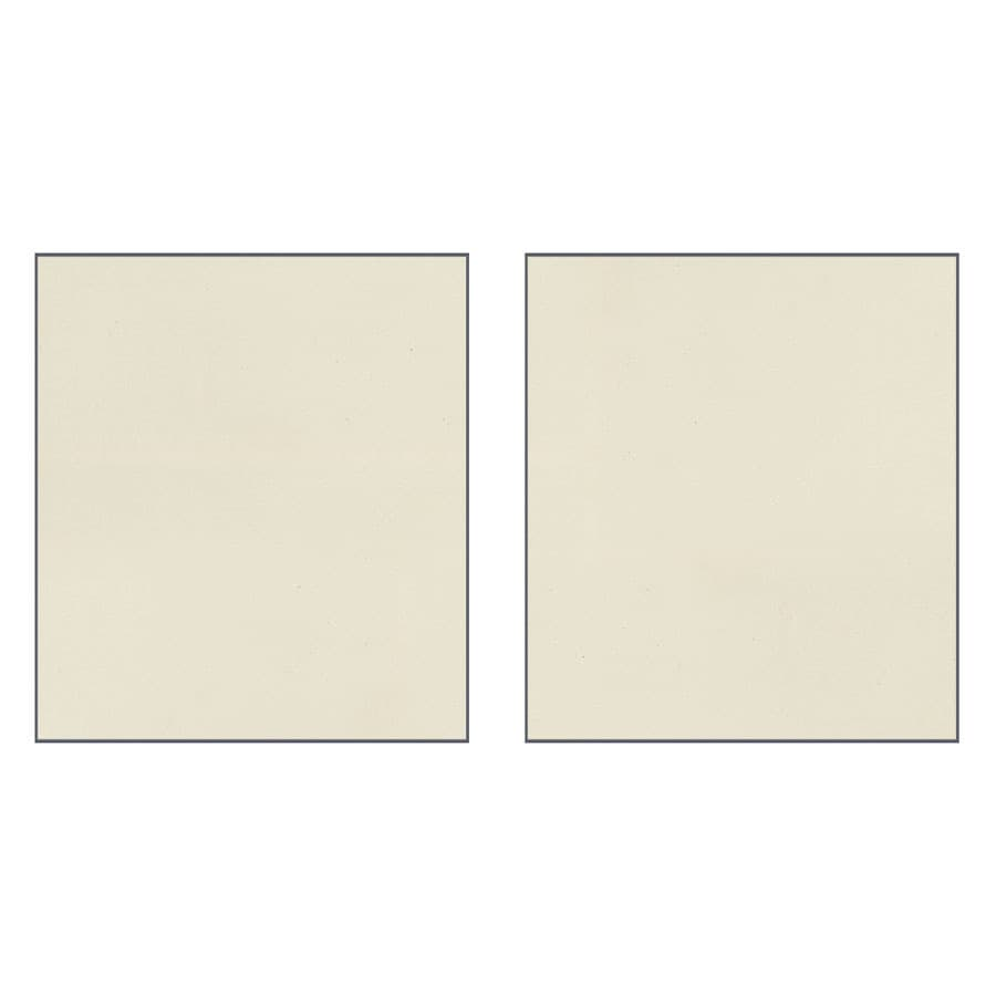 Transolid Decor Biscuit/Buff Shower Wall Surround Side Panel (Common: 0.25-in; Actual: 72-in x 0.25-in)