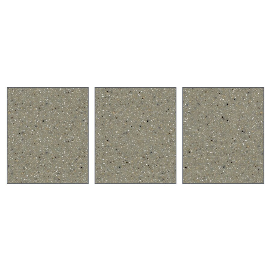 Transolid Decor Desert Earth Shower Wall Surround Side Panel (Common: 0.25-in; Actual: 72-in x 0.25-in)