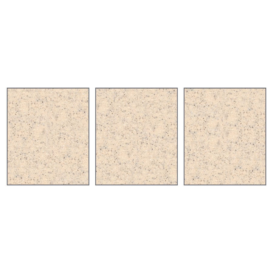 Transolid Decor Matrix Khaki/Sunset Sand Shower Wall Surround Side Panel (Common: 0.25-in; Actual: 72-in x 0.25-in)
